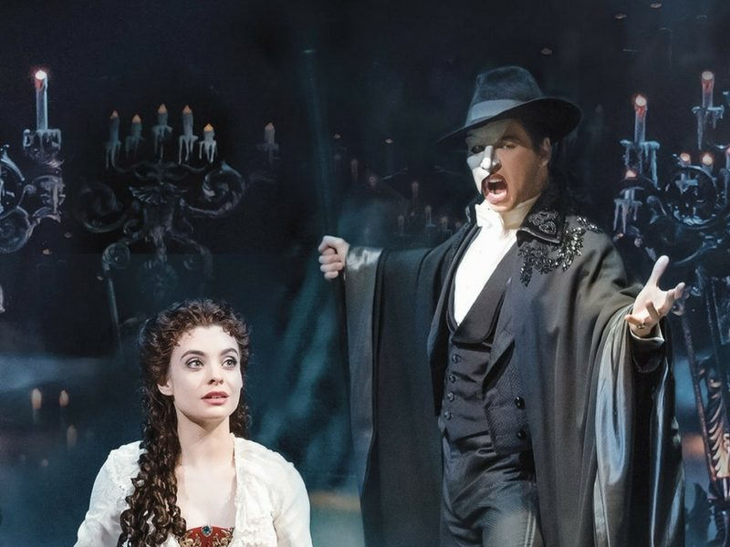 Best Broadway Shows For Kids - The Phantom of The Opera