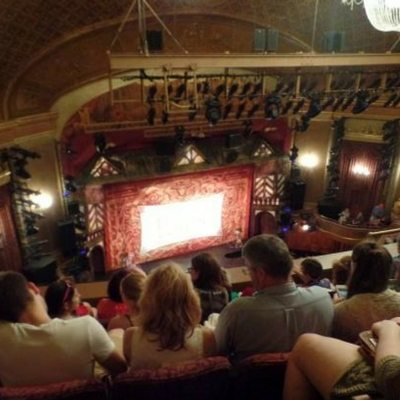 St James Theater Seating Chart Present Laughter Guide