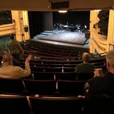 Hudson Theatre Balcony Seating