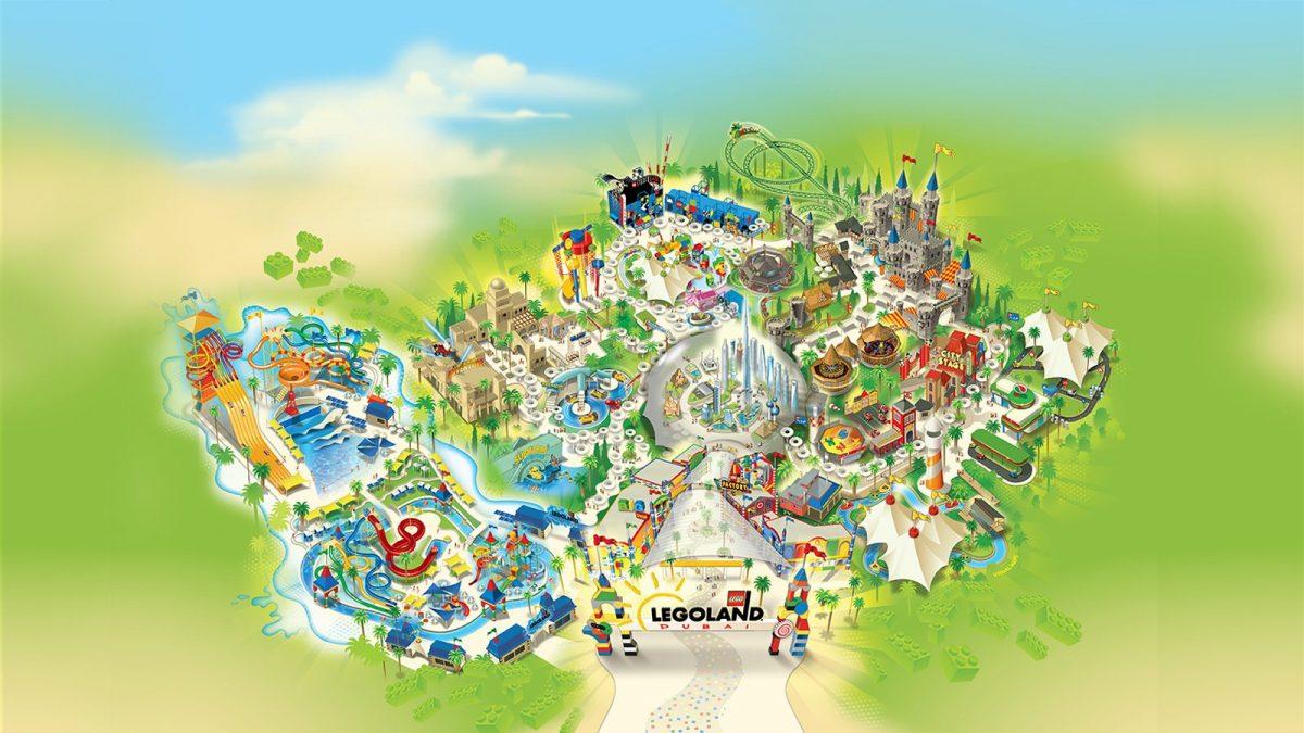 egoland dubai map