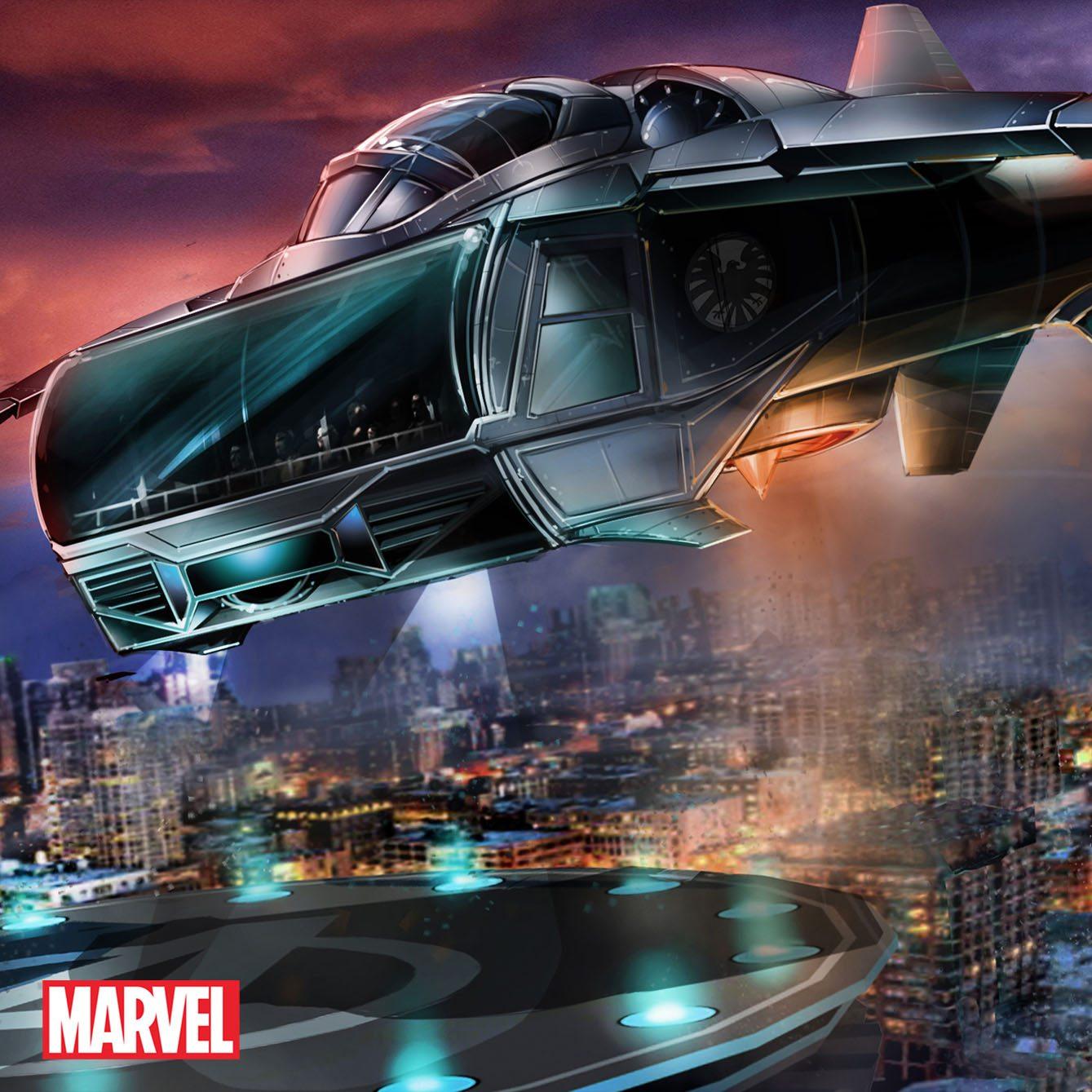 IMG Dubai - Avengers Quintjet Flight