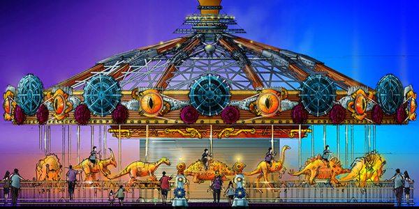 IMG Dubai - Dino Carousel
