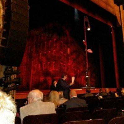 longacre theatre seating chart