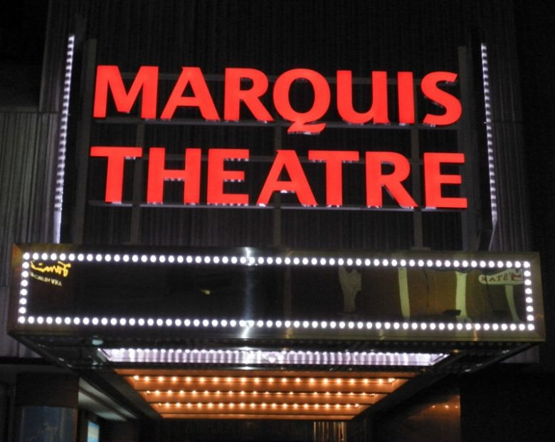 Marquis Theater Seating Chart
