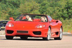 ferrari world driving experience