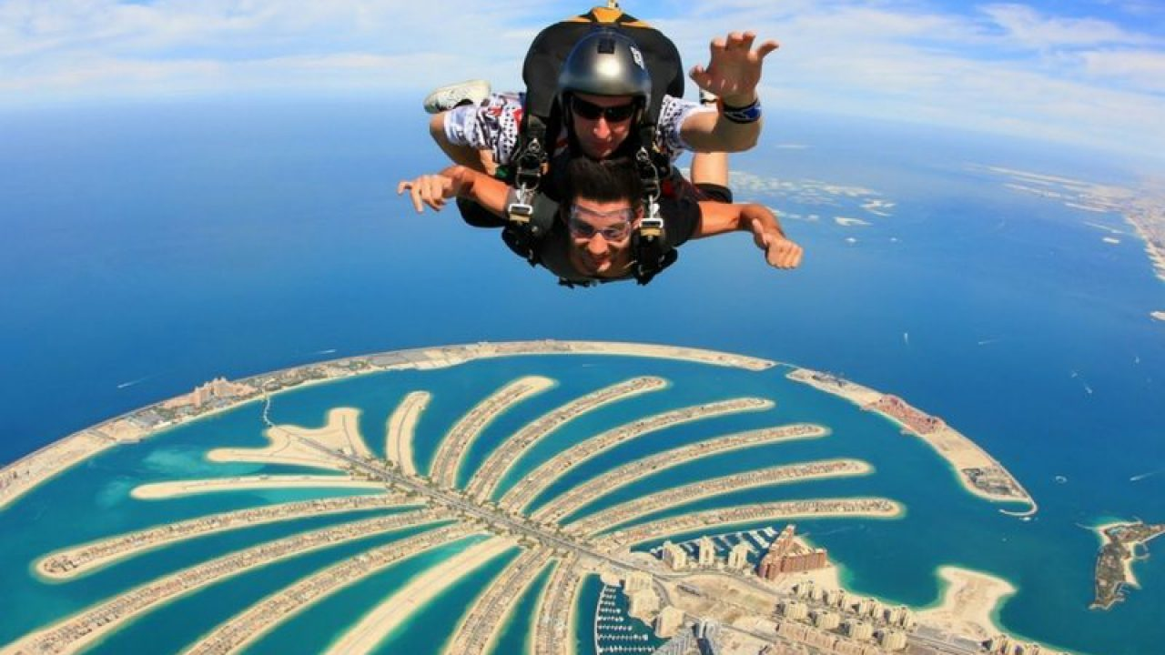 Image result for Skydive in Dubai