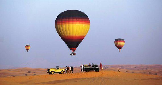 Hot Air Ballooning Dubai