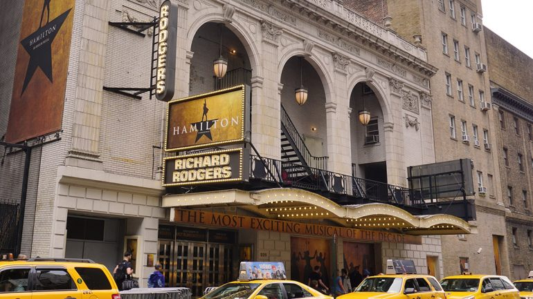 Richard Rodgers Theatre Broadway Hamilton Tickets