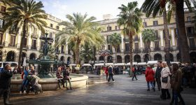 barcelona in february
