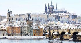 Prague in February