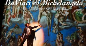 Davinci and Michelangelo The Titans Experience Lottery