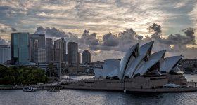 Sydney in April